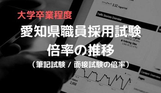 愛知県庁職員採用(行政1・2)の難易度は?倍率推移を徹底解説!